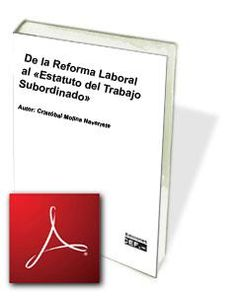 De la Reforma Laboral al «Estatuto del Trabajo Subordinado» Occupational Therapy, Perception, Memories, Learning, Books, Html, Socialism, School