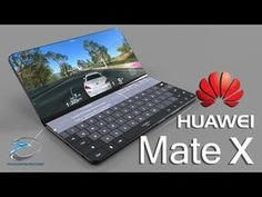 Smartphone company Huawei Launches Mate X Smartphone with folding feature. Huawei Mate x comes with inch screen phone and unfold to 8 inch. New Technology Gadgets, Cool Technology, Electronics Gadgets, Tech Gadgets, Free Iphone Giveaway, Retro Typewriter, Huawei Phones, Newest Cell Phones, Cell Phone Plans