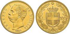 NumisBids: Nomisma Spa Auction 50, Lot 402 : Umberto I (1878-1900) 100 Lire 1883 – Pag. 569; Mont. 3 AU R...