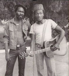 Joe Higgs and Jimmy Cliff
