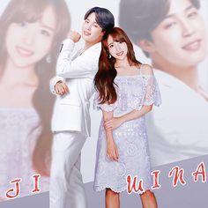 Jimin and mina Bts Twice, Kpop Couples, Myoui Mina, Bts Jimin, Girl Group, Bangs, White Dress, Photoshoot, Wattpad