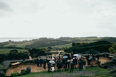 Photographer: CHASEWILD | Venue: Mudbrick, Waiheke Island | Florist: Wildflower | Co-ordinator & Stylist: My Waiheke | Hair: Dry + Tea | Make-up: Amber Carroll | Celebrant: Irene Armstrong | Brides Gown: Amanda Garrett from The Babushka Ballerina | Bridesmaids dresses: Needle & Thread and For Love & Lemons | DJ: MixIt DJs