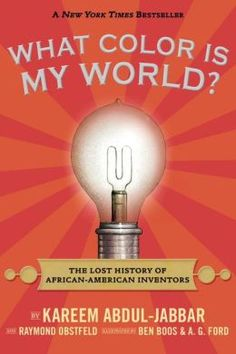 Great book for black history month! Fascinating stories of little known African-American inventors. 8-12