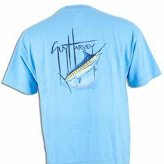 Guy Harvey Marlin T-Shirt - Blue 30% off!! #guyharvey