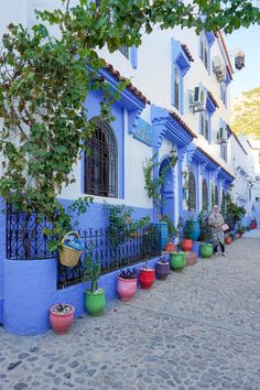 Chefchaouen, Chaouen for short, is a breathtaking blue, calm city in northern Morocco. The city is famous for its blue-washed buildings. Morocco Travel, Africa Travel, Marrakesh, Canada Travel, Travel Usa, Travel Tips, Travel Destinations, Casablanca, Blue City Morocco