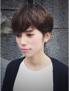 カッツヘアー(katz hair)柔らかいベリーショート// セシルショート 久利須スタイル