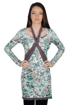 Rochie de toamna cu maneca lunga RVL