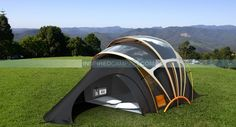 Solar Powered Tent: Earth Friendly Cool Glamping (This is a concept project, but I would've certainly loved to have tested it out. I went camping for several years as a Girl Scout. I mention how much I miss it on [and s'mores] on occasion.)