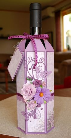 Beacarona's kort: Purple Bottle Wrapping