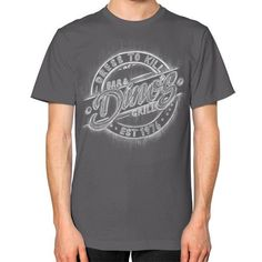 The Boys Are Back In Town Unisex T-Shirt (on man)