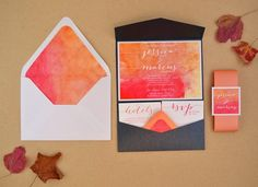 MargotMadison: Wedding Invitation Trends: Handwritten & Calligraphy