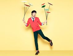 JYJ's Yoochun for NII Fall 2013 Campaign