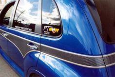Chrysler PT Cruiser Accessory - Auto-Tech Plastics Chrysler PT Cruiser PT Woody Carbon Fiber Kit