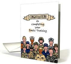 Congratulations - graduating Basic Training | Greeting Card Universe by Corrie Kuipers
