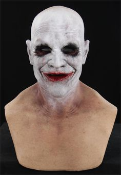 JACK the RIPPER CLOWN - Silicone Mask