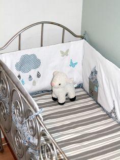 tour de lit b b fille parade d 39 enfant rose et cru. Black Bedroom Furniture Sets. Home Design Ideas