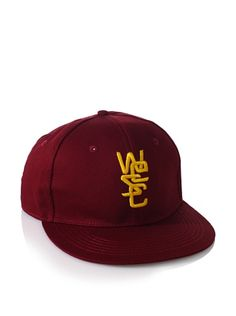 38% OFF WeSC Unisex Snapbacks Overlay Baseball Cap (Biking Red)