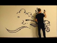 Father paints an adorable Calvin and Hobbes mural on his son's wall - this is awesome!! (why couldn't I have married an artist? or, better yet, have any artistic talent of my own?)