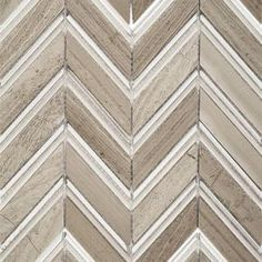 Splashback Tile Royal Herringbone Sand Polished Marble Floor and Wall Tile - 3 in. x 6 in. Tile Sample M1C4HDRYLSND at The Home Depot - Mobile
