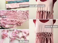 Make Your Own Tops & Blouses with 30 DIY Clothes Ideas DIYReady.com | Easy DIY Crafts, Fun Projects, & DIY Craft Ideas For Kids & Adults