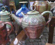Raku Tea Pots, Tableware, Dinnerware, Tablewares, Tea Pot, Dishes, Place Settings, Tea Kettles