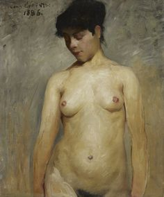 https://flic.kr/p/w3KoMz | Lovis Corinth - Nude Girl [1886] | [Minneapolis Institute of Arts - Oil on canvas, 76.2 x 64.14 cm]