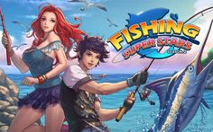 appoint one of many characters and go for amazing fishing in areas environments of the world. sent a be and strive to capture the biggest fish in this game for Android. Be cautious, the fish can get Android Mobile Games, Best Android Games, Android Apps, Free Android, Free Games, Game Design, Games For Kids, Season 2