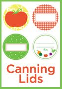 printable labels for canning lids | A Sonoma Garden