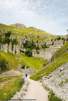 Wild card walks Gordale Scar, Yorkshire Dales, North Yorkshire, England - need to hike the dales! Yorkshire England, Yorkshire Dales, North Yorkshire, Visit Yorkshire, England And Scotland, England Uk, Northern England, British Countryside, Places Of Interest