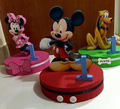 Centros de mesa de Mickey Mouse Clubhouse por TheMouseCraftyShop