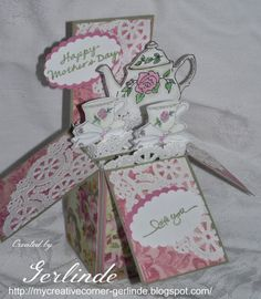Card in a Box -My Creative Corner -Gerlinde: Happy Mother's Day!
