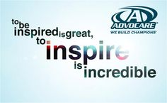 Be the inspiration.