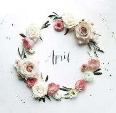 Inspirational Quotes about Work : Hello April! If I'm allowed to have personal favourites t… Seasons Months, Months In A Year, Spring Months, 12 Months, Neuer Monat, Design Creation, Month Flowers, Hello Spring, Happy Spring