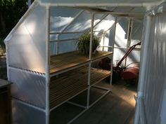 FabArtDIY PVC Gardening Ideas and Projects - PVC Green House