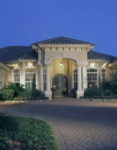 Coventry II, Miromar Lakes, by Divco Construction Corp., Custom Home Builder, Naples Florida http://www.divcohomes.com