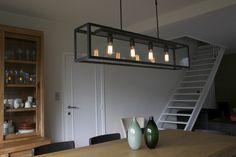 Verlichting voor aan eetkamer tafel (fabrikant: Luminello)