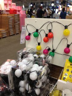 Fairy lights, Ikea