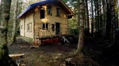 Cabin in the woods, far far away from the rest of the world........one day. (Brown's home, built by hand with hard work and dedication. Alaskan Bush People)