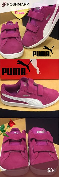 New Puma Sneaker for Girls...A Classic! 💕🌹 New Puma sneakers for your girls... this is a cute classic. 💕💕💕🛍 Puma Shoes Sneakers