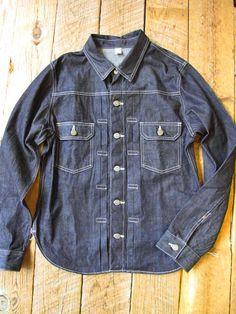 Pure Blue Japan Denim Shirt Type 2