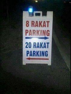 Image result for 8 or 20 taraweeh parking meme