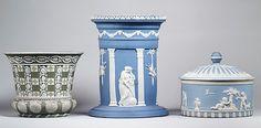 Jasperware Vase- Josiah Wedgwood and Sons (Designer- John Flaxman) 18th Century