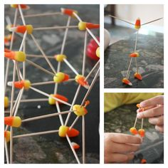 Building Structures with Candy Pumpkins | Science Teaching ...