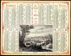 Almanach des Postes 1873