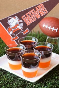 Best Cleveland Browns Jell-O Shots Recipe-How to Make Cleveland Browns Jell-O Shots-Delish.com