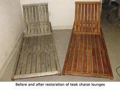 how to refresh teak furniture home improvement exterior designs rh pinterest com Teak Wood Restoration refinishing teak lawn furniture
