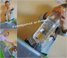 Balonowo-wodne eksperymenty | Kreatywnie w domu Diy And Crafts, Projects To Try, Water Bottle