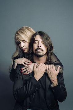 Stevie Nicks and Dave Grohl
