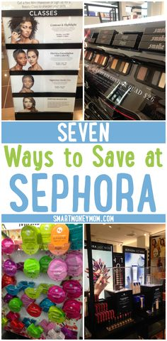 Let's be real! Stretching your dollar at Sephora may seem impossible. But the truth is, there are ways to save money on your favorite cosmetics and skincare items when shopping at Sephora. Check out my top 7 tips for saving at Sephora-- #4 can make you feel like a MILLON Bucks!