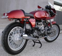 BMW Cafe Racer R80 Copper Minolta I by FlatRacer, via Flickr